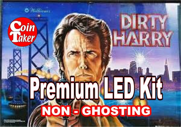 1. DIRTY HARRY LED Kit with Premium Non-Ghosting LEDs