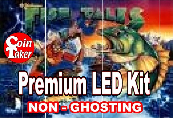 FISHTALES LED Kit with Premium Non-Ghosting LEDs