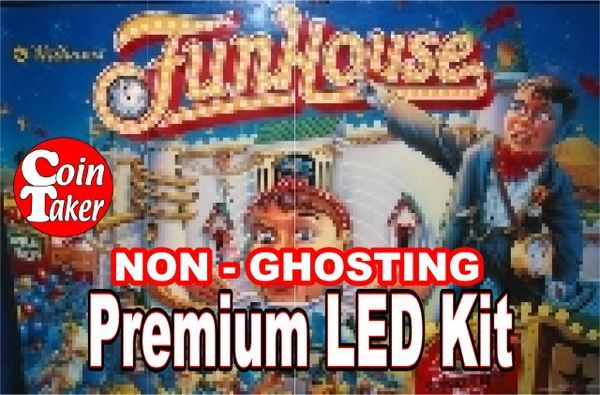 FUNHOUSE LED Kit with Premium Non-Ghosting LEDs