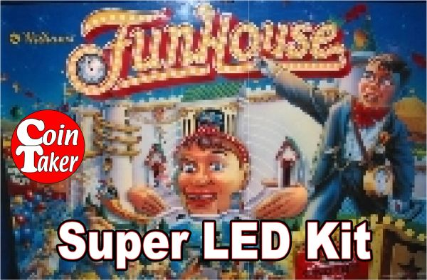 2. FUNHOUSE LED Kit w Super LEDs