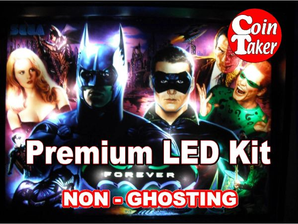 BATMAN FOREVER (SEGA)LED Kit with Premium Non-Ghosting LEDs