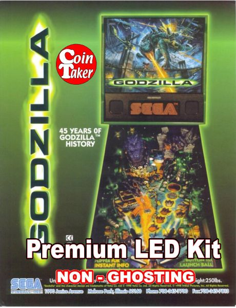 1. GODZILLA LED Kit with Premium Non-Ghosting LEDs