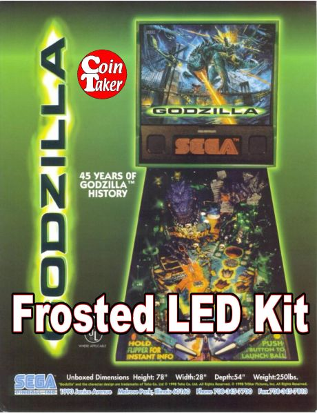 3. GODZILLA LED Kit w Frosted LEDs