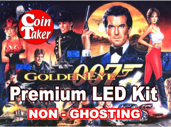GOLDENEYE LED Kit with Premium Non-Ghosting LEDs