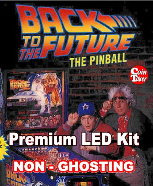 BACK TO THE FUTURE LED Kit with Premium Non-Ghosting LEDs