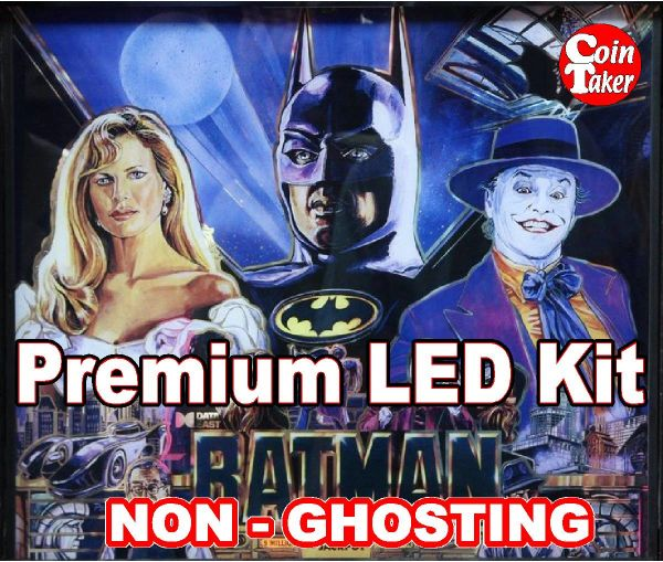 BATMAN 1991 LED Kit with Premium Non-Ghosting LEDs