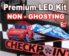 1. CHECKPOINT LED Kit with Premium Non-Ghosting LEDs