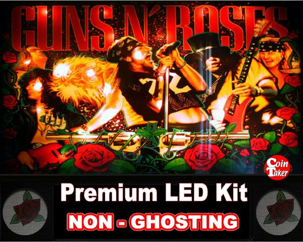 1. GUNS N ROSES LED Kit with Premium Non-Ghosting LEDs
