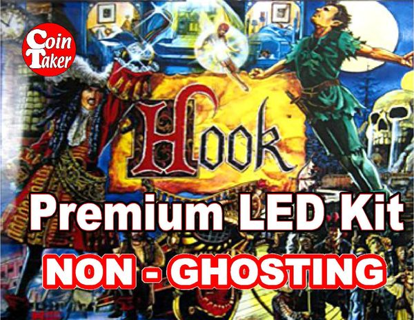 HOOK LED Kit with Premium Non-Ghosting LEDs