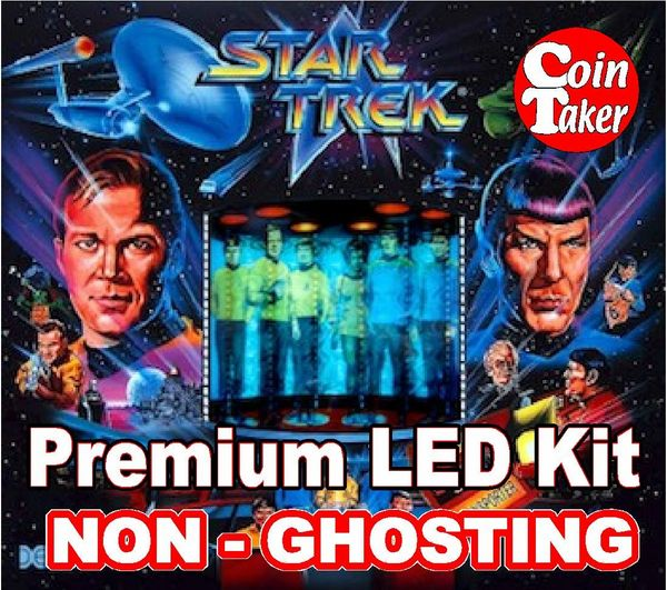 1991 STAR TREK LED Kit with Premium Non-Ghosting LEDs