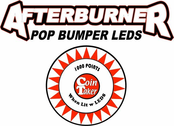 Premium Non-Ghosting Afterburner Pop Bumper