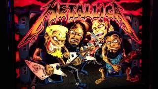 Metallica Pro Stern Custom Deluxe Interactive LED Backbox Kit
