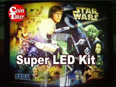 2. STAR WARS TRILOGY Sega 1997 LED Kit w Super LEDs