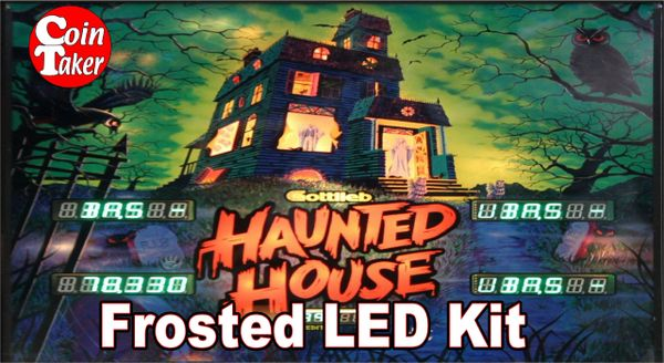 3. HAUNTED HOUSE LED Kit w Frosted LEDs