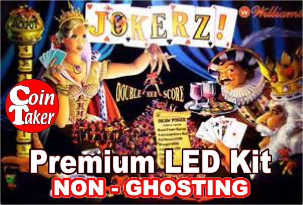 1. JOKERZ LED Kit with Premium Non-Ghosting LEDs