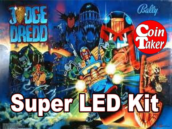 2. JUDGE DREDD LED Kit w Super LEDs