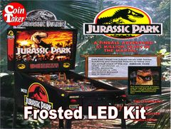3. JURASSIC PARK Data East 1993 LED Kit w Frosted LEDs