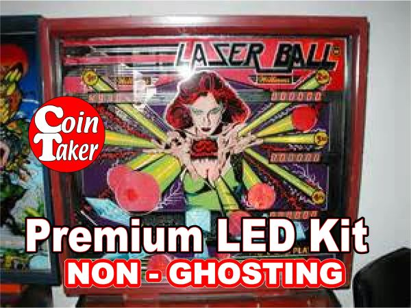 LASER BALL LED Kit with Premium Non-Ghosting LEDs