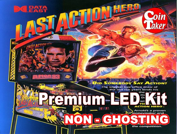 1. LAST ACTION HERO LED Kit with Premium Non-Ghosting LEDs