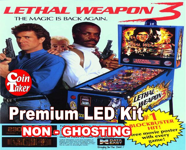 LETHAL WEAPON 3 LED Kit with Premium Non-Ghosting LEDs