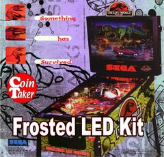 3. LOST WORLD JURASSIC PARK Sega LED Kit w Frosted LEDs