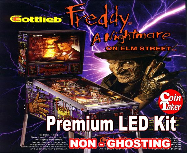 1. NIGHTMARE ON ELM STREET LED Kit with Premium Non-Ghosting LEDs