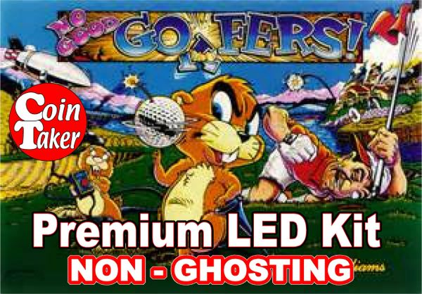 NO GOOD GOFERS LED Kit with Premium Non-Ghosting LEDs
