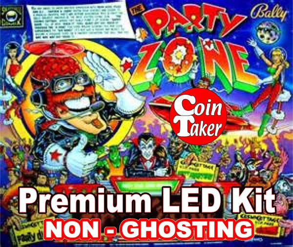 PARTY ZONE LED Kit with Premium Non-Ghosting LEDs