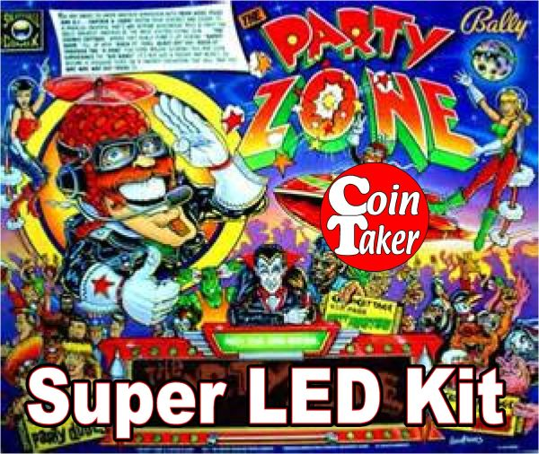 2. PARTY ZONE LED Kit w Super LEDs