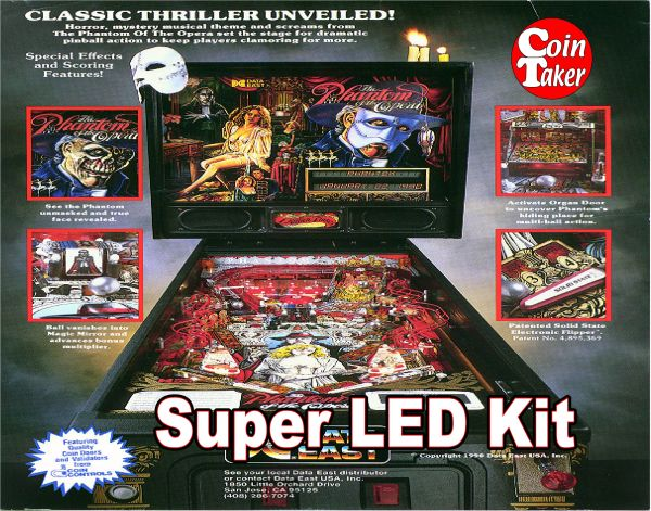 2. PHANTOM OF THE OPERA LED Kit w Super LEDs