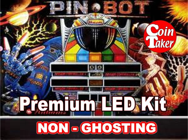 PINBOT LED Kit with Premium Non-Ghosting LEDs