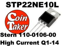 STP22NE10L Stern 110-0106-00 High Current Transistor