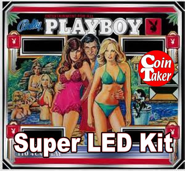 BALLY PLAYBOY LED Kit w Super LEDs