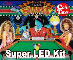 2. POOL SHARKS LED Kit w Super LEDs