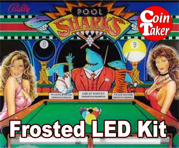 3. POOL SHARKS LED Kit w Frosted LEDs