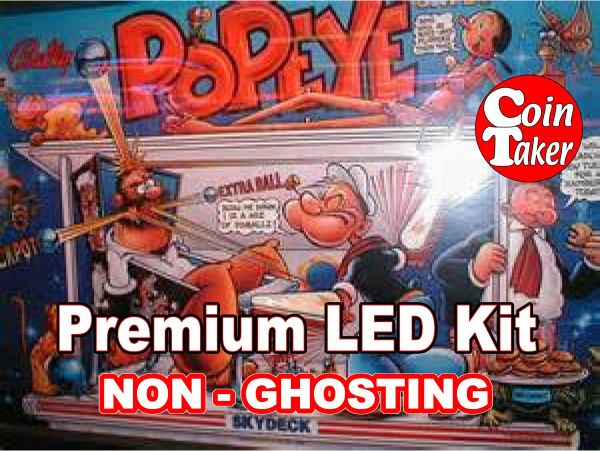 1. POPEYE LED Kit with Premium Non-Ghosting LEDs
