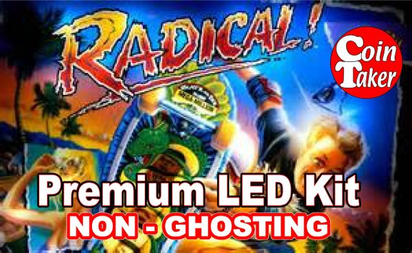 1. RADICAL LED Kit with Premium Non-Ghosting LEDs