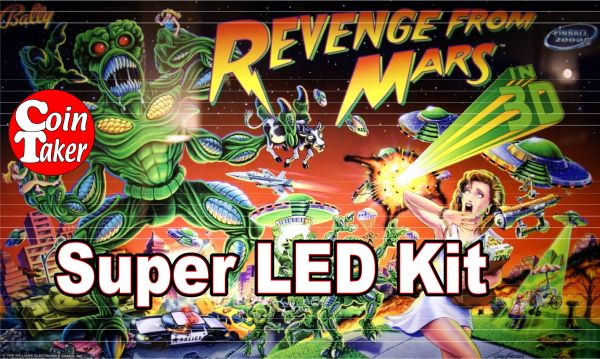 2. REVENGE FROM MARS LED Kit w Super LEDs