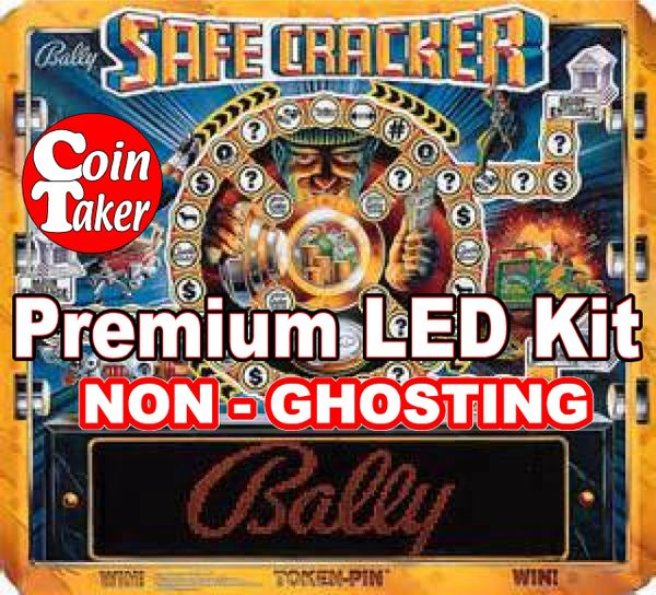 1. SAFE CRACKER LED Kit with Premium Non-Ghosting LEDs