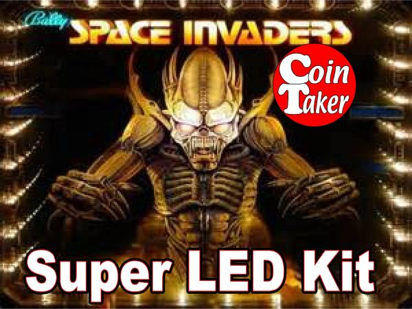 SPACE INVADERS LED Kit w Super LEDs