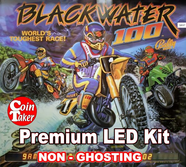 BLACKWATER LED Kit with Premium Non-Ghosting LEDs