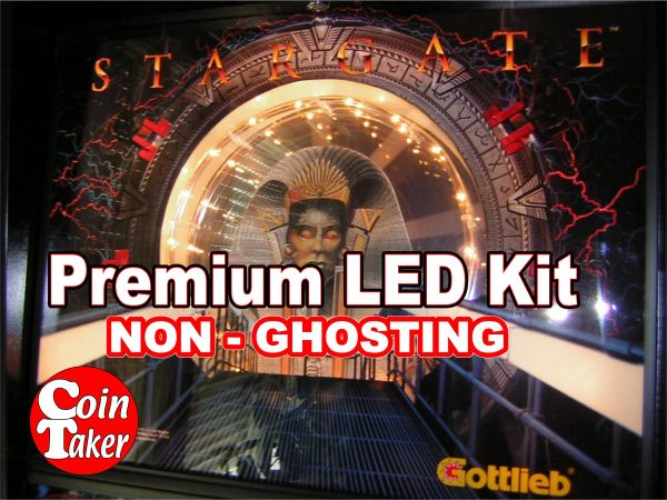 1. STARGATE LED Kit with Premium Non-Ghosting LEDs