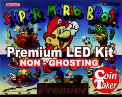 1. SUPER MARIO BROS LED Kit with Premium Non-Ghosting LEDs
