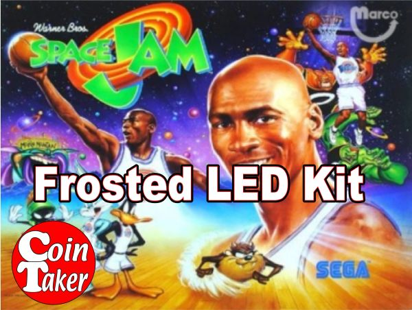 SPACE JAM LED Kit with Frosted LEDs