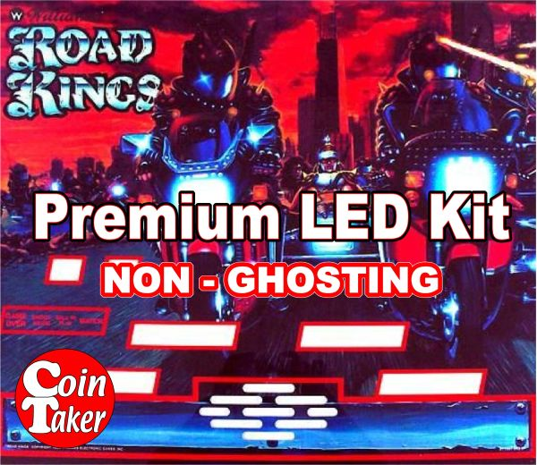 ROAD KINGS LED Kit with Premium Non-Ghosting LEDs