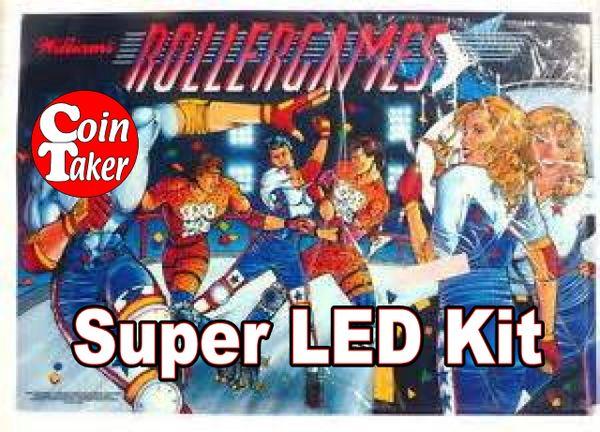2. ROLLERGAMES LED Kit w Super LEDs