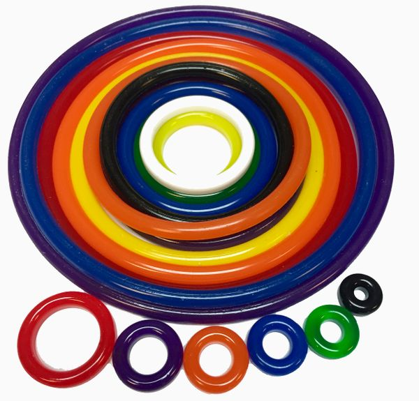 Star Trek Polyurethane Rubber Ring Kit - 36 pcs