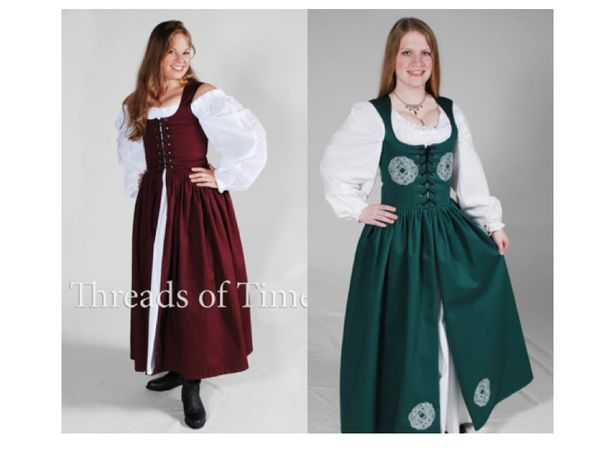 Froca - Plain, Celtic, Celtic Wreath (Irish Bog Dress)