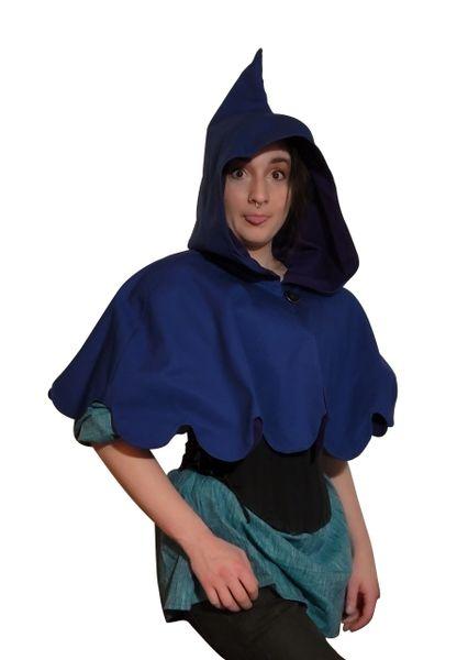 Pixie Cowl Fancy - Reversible - 2 colors