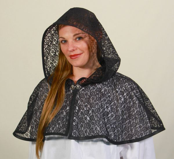 Lady's Lace Cowl of Mystery